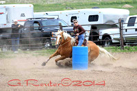2014 NBHA NE05 Barrel Races
